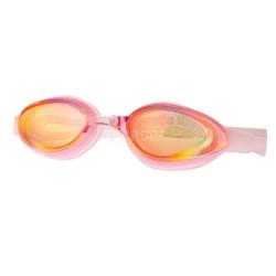 Okulary p�ywackie, damskie, lustrzanki NIMPH PINK Spokey