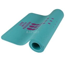 Mata do ćwiczeń, jogi, fitness LIGHTMAT 180x60 cm Spokey turkusowa