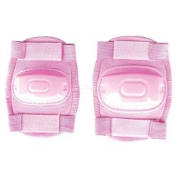 Ochraniacze dziecięce na łokcie, kolana BUMPER różowe Spokey