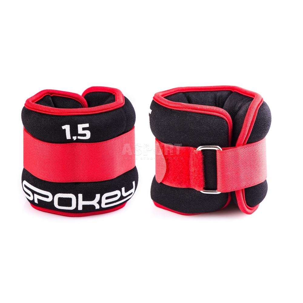 Fitness & Jogging Spokey Handgelenkgewichte Gewichtsmanschetten Gewichte Handgelenk 1,5kg