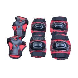 Ochraniacze dziecięce, zestaw: nadgarstki, kolana, łokcie AEGIS Spokey