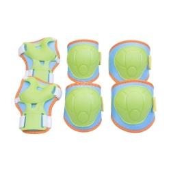 Ochraniacze dziecięce, zestaw: nadgarstki, kolana, łokcie BUFFER Spokey