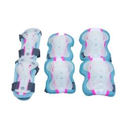 Ochraniacze dziecięce, zestaw: nadgarstki, kolana, łokcie SENTINEL Spokey