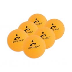 Piłeczki do tenisa stołowego LEARNER 6szt pomarańczowe Spokey