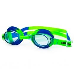 Okulary pływackie dziecięce JELLYFISH zielono-niebieskie Spokey