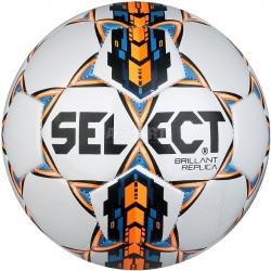 Piłka nożna na trawę, treningowa, rozmiar 4 BRILLANT REPLICA biała Select