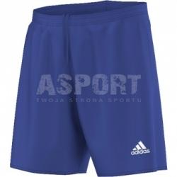 Spodenki piłkarskie, sportowe, chłopięce PARMA 16 SHORT niebieskie Adidas