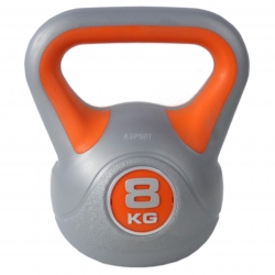 Kettlebell, hantla winylowa, odważnik 8kg HK0080 SportVida