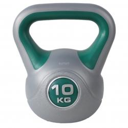 Kettlebell, hantla winylowa, odważnik 10kg HK0081 SportVida