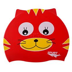 Czepek dziecięcy, silikonowy RED CAT Spurt