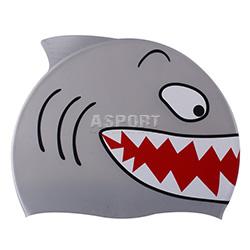 Czepek dziecięcy silikonowy SHARK Spurt