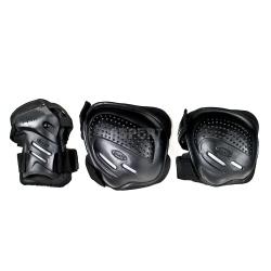 Ochraniacze na nadgarstki, �okcie, kolana COOLMAX czarne Tempish