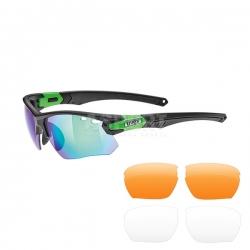 Okulary sportowe, lustrzanki + wymienne szk�a SPORTSTYLE 109 Uvex