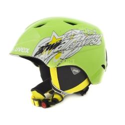 Kask narciarski, snowboardowy, regulowany, dziecięcy AIRWING II Uvex