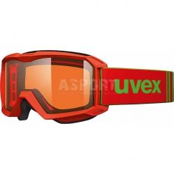 Gogle narciarskie, snowboardowe, dziecięce FLIZZ LG Uvex