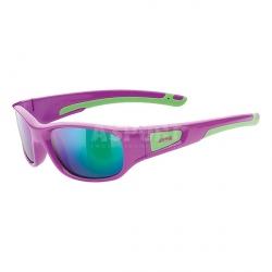Okulary dziecięce, młodzieżowe, lustrzanki SPORTSTYLE 506, + pasek gratis Uvex