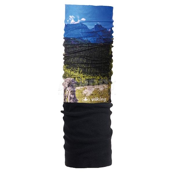 Chusta, opaska, kominiarka, bandana z polarowym ociepleniem 4321 Viking