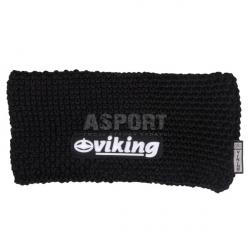 Opaska zimowa Windstopper, 50% wełna 0217 czarna Viking