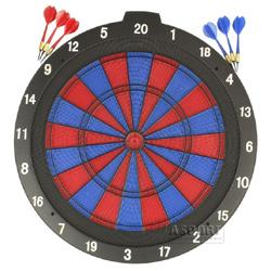 Tarcza bezpieczna 45,7 cm + rzutki 6szt. Win.Max