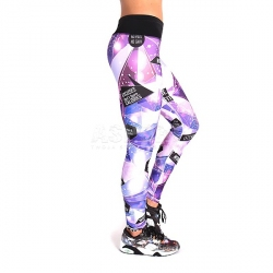 Legginsy damskie, spodnie, na fitness, do tańca GALACTICA 2skin