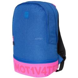 Plecak szkolny, miejski, sportowy 15 L H4Z18-PCU002 niebiesko-różowy 4F