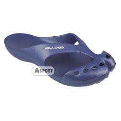 Klapki ALASKA granatowy Aqua-Speed