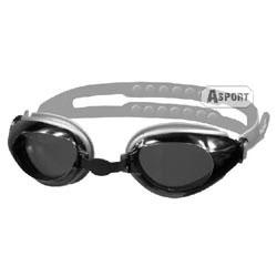 Okulary pływackie CITY srebrne Aqua-Speed