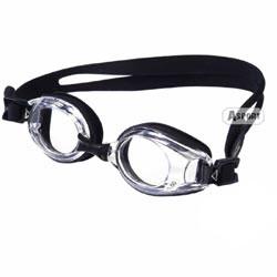 Okulary pływackie, korekcyjne, ujemna korekcja LUMINA black