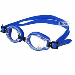 Okulary pływackie, korekcyjne, ujemna korekcja LUMINA blue