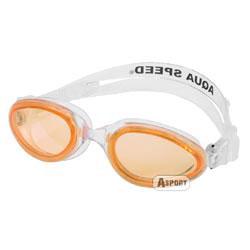 Okulary pływackie dziecięce SONIC JR biel-pomarańcz Aqua-Speed