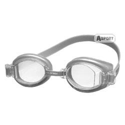 Okulary pływackie, uniwersalne ARTI srebrne Aqua-Speed