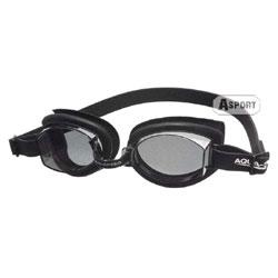 Okulary pływackie, uniwersalne ASTI czarne Aqua-Speed