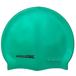 Czepek pływacki, silikonowy MEGA zielony Aqua-Speed