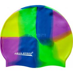 Czepek wielokolorowy z silikonu BUNT 73 Aqua-Speed