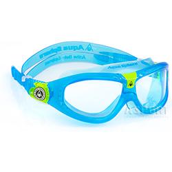 Gogle do pływania dziecięce panoramiczne SEAL KID 2 niebieskie Aqua Sphere