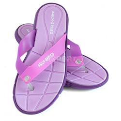 Klapki damskie, na basen, na plażę BALI fioletowe Aqua-Speed