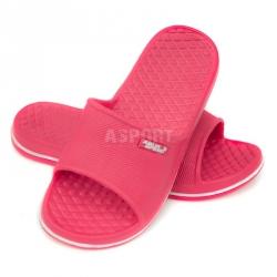 Dziecięce, młodzieżowe klapki basenowe CORDOBA różowe Aqua-Speed