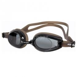 Okulary pływackie AVANTI czarno-transparentne Aqua-Speed
