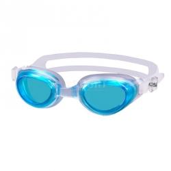 Okulary pływackie, młodzieżowe AGILA białe-aqua Aqua-Speed