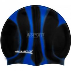 Czepek wielokolorowy z silikonu BUNT 39 Aqua-Speed