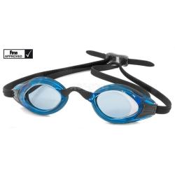 Okulary do pływania FINA approved wyścigowe BLAST Aqua-Speed czarno-niebieskie
