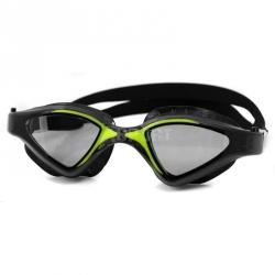 Okulary pływackie, filtr UV, Anti-Fog RAPTOR czarno-zielone Aqua-Speed