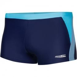 Kąpielówki, szorty męskie DARIO granatowo-niebieskie Aqua-Speed