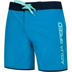 Szorty pływackie, spodenki męskie EVAN niebieskie Aqua-Speed