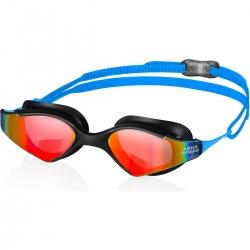 Okulary pływackie dla dorosłych BLADE MIRROR Aqua-Speed niebiesko-czarne