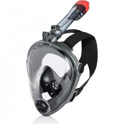 Maska do nurkowania pełnotwarzowa SPECTRA 2.0 czarna