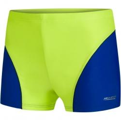 Spodenki pływackie chłopięce LEO zielone Aquaspeed