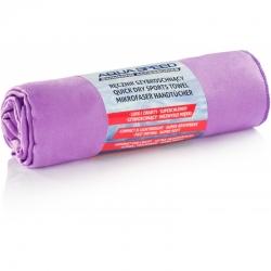 Ręcznik szybkoschnący DRY FLAT 70x140 cm fioletowy Aqua Speed