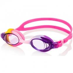 Okulary pływackie dziecięce AMARI różowo-fioletowe Aqua-Speed