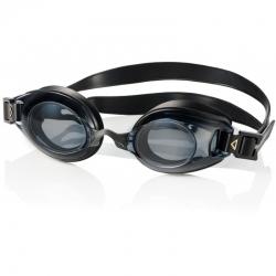 Okulary pływackie korekcyjne LUMINA czarne+ciemne szkła Aqua Speed